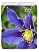 Clematis Blossom Duvet Cover