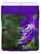 Clematis On The Side Duvet Cover