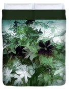 Clematis On The Vine Duvet Cover