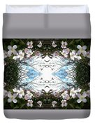 Clematis Sky Window Duvet Cover
