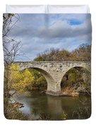 Clement Stone Arch Bridge Duvet Cover