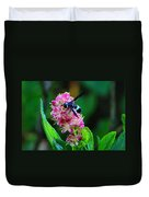 Clethra And Wasp Duvet Cover