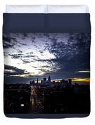 Cleveland At Dusk Duvet Cover