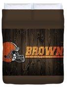 Cleveland Browns Barn Door Duvet Cover
