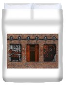 Cleveland Browns Brick Wall Duvet Cover