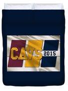 Cleveland Cavaliers Flag Duvet Cover