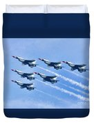 Cleveland National Air Show - Air Force Thunderbirds - 1 Duvet Cover