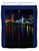 Cleveland Nightly Reflections Duvet Cover