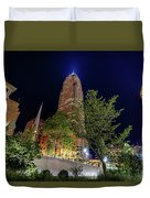 Cleveland On The Rise Duvet Cover