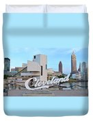 Cleveland Updated View Duvet Cover