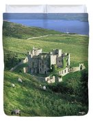 Clifden Castle, Co Galway, Ireland 19th Duvet Cover