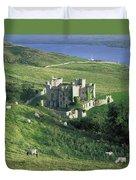 Clifden Castle, Co Galway, Ireland 19th Duvet Cover
