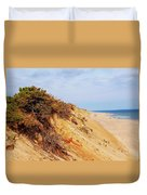 Cliff At Marconi Beach Duvet Cover