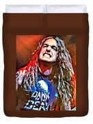 Cliff Burton Portrait Duvet Cover