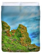 Cliff #h0 Duvet Cover