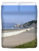 Cliff House San Francisco Duvet Cover