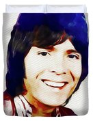 Cliff Richard, Music Legend Duvet Cover