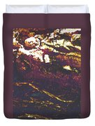 Cliffs And Clouds Duvet Cover
