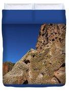 Cliffs At Bandelier Duvet Cover