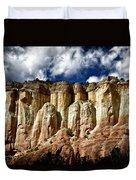 Cliffs At Echo Amphitheater Duvet Cover