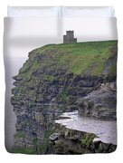 Cliffs Of Moher Ireland Duvet Cover