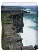 Cliffs Of The Aran Islands 5 Duvet Cover