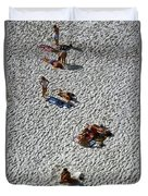 Clifton Beach, Cape Town Duvet Cover by Travel Pics