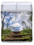 Climb To The Clouds Duvet Cover