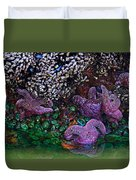 Clinging To Life Duvet Cover