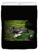 Clint's Sheep  Duvet Cover