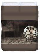 Clock - Id 16218-130649-1306 Duvet Cover