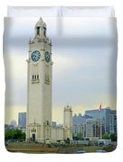 Clock Tower Montreal 1 Duvet Cover