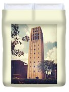 Clock Tower Duvet Cover