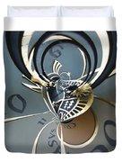 Clockface 11 Duvet Cover