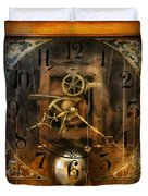Clockmaker - A Sharp Looking Time Piece Duvet Cover