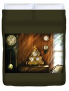 Clockmaker - Clocks Duvet Cover