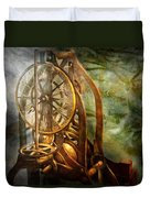 Clockmaker - The Day Time Stood Still  Duvet Cover by Mike Savad