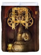 Clockmaker - The Mechanism  Duvet Cover