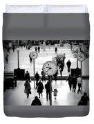 Clocks Duvet Cover