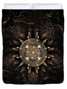 Clockwork Duvet Cover by John Edwards