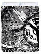 Clockwork Duvet Cover