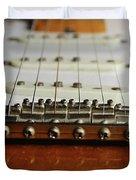 Close Up Electric Guitar Duvet Cover