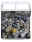Close Up Of Rocks Duvet Cover