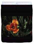 Close View Of A Tulip Duvet Cover