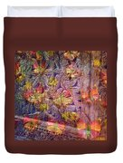 Closed Butterfly Door Duvet Cover