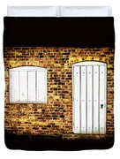 Closed For Business Duvet Cover