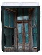 Closed Forever Duvet Cover