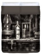 Closing Time Bodie Ghost Town Duvet Cover