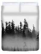 Cloud And Trees  Duvet Cover
