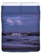 Cloud And Wave Seaside New Jersey Duvet Cover